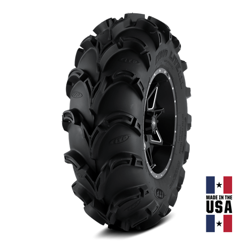 6ply Full set of ITP Mud Lite II 27x9-14 and 27x11-14 ATV Tires 4